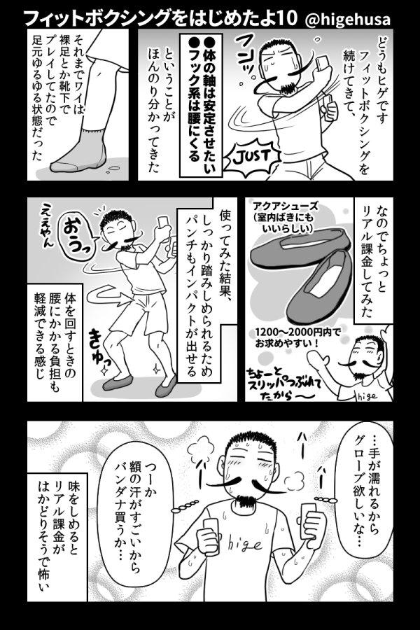 フィットボクシング・プレイ日記(感想込み・完結済)