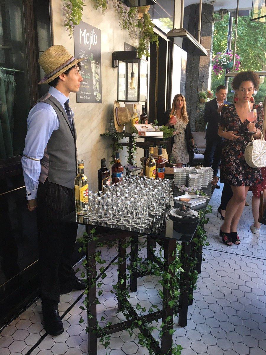 It was Casa de Cuba @HyattChurchill Bar & Terrace last night. Thanks for a fun evening!