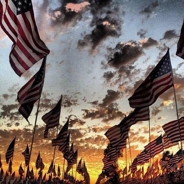 Rise and shine, it's Independence Day time. Merica.