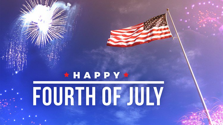 Thank you to all that have served to defend our freedom. Have a safe and happy 4th of July!