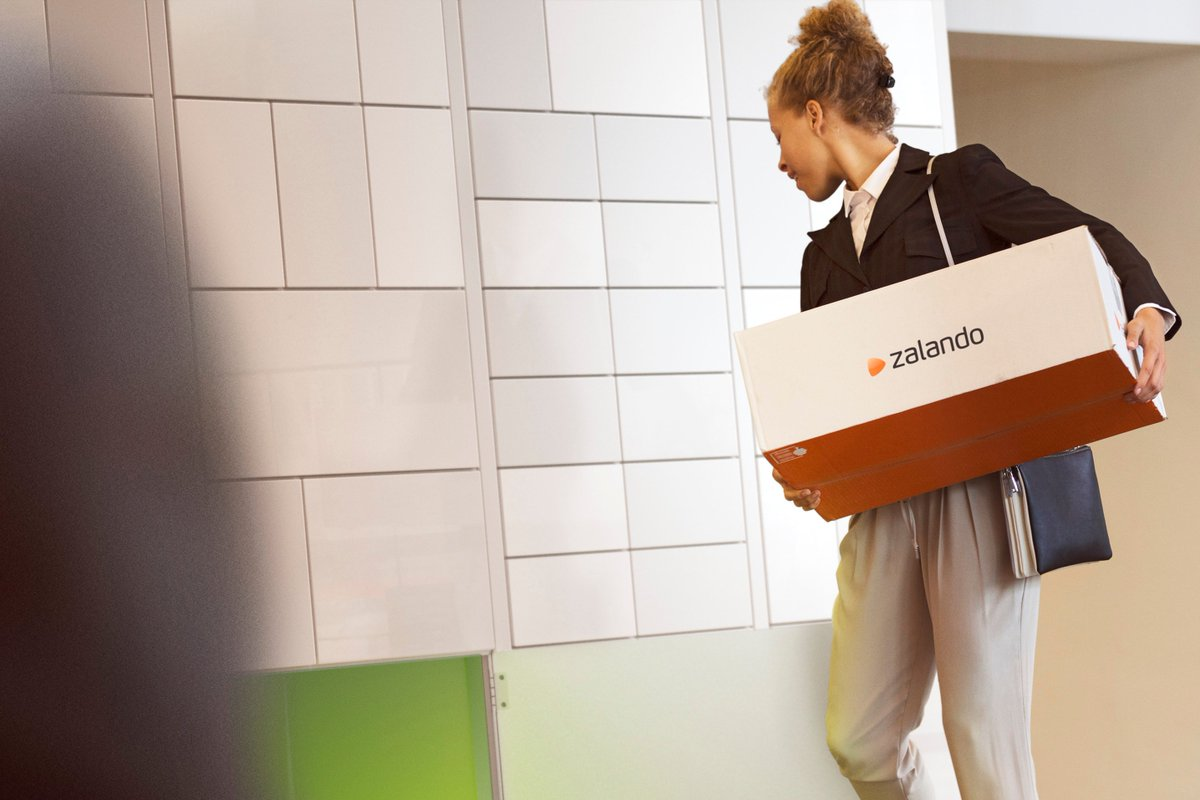 b9e7bd5f ... #Zalando and Postnord have teamed up to trial a drop-off service in  Denmark. The service involves people who stay at home (e.g stay-at-home  parents) ...