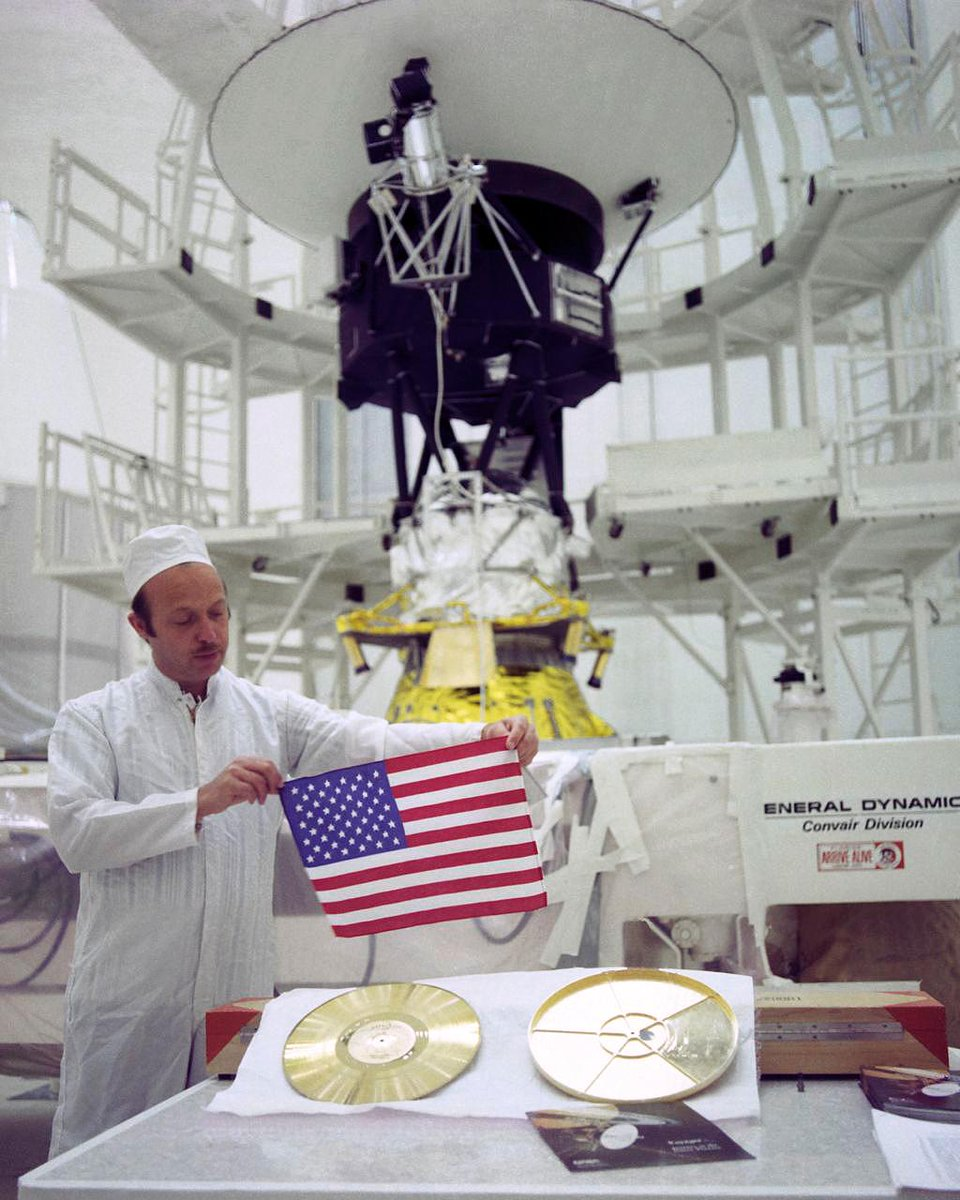 Long (and far) may she wave 🇺🇸 Im carrying this American flag as I journey through interstellar space. Its the farthest flag to ever have traveled from Earth. Happy #4thofJuly, everyone! go.nasa.gov/305V6oH