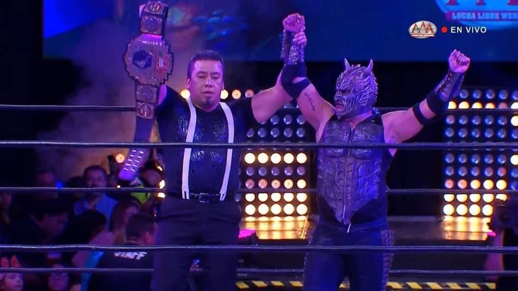 Blue Demon Jr. y Mercenarios triunfan en SLP, homenaje a Perro Aguayo 4