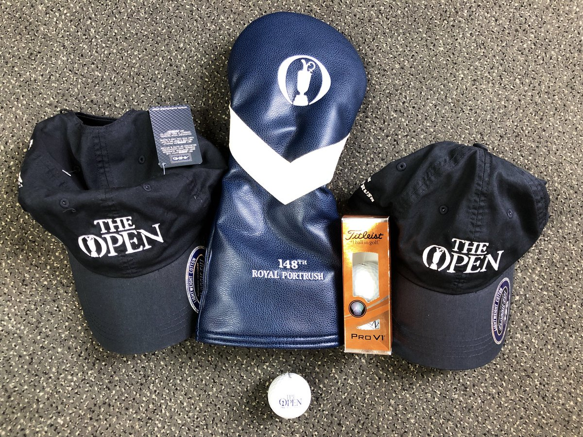 🚨 OPEN GIVEAWAY! 🚨  It's 2 weeks until @TheOpen. To celebrate you can win this bundle of a driver head over 2x caps & a sleeve of Titleist Pro V1 balls. To enter simply:  📲 FOLLOW @NCG_com ♻️ RT this post 👥 TAG a mate