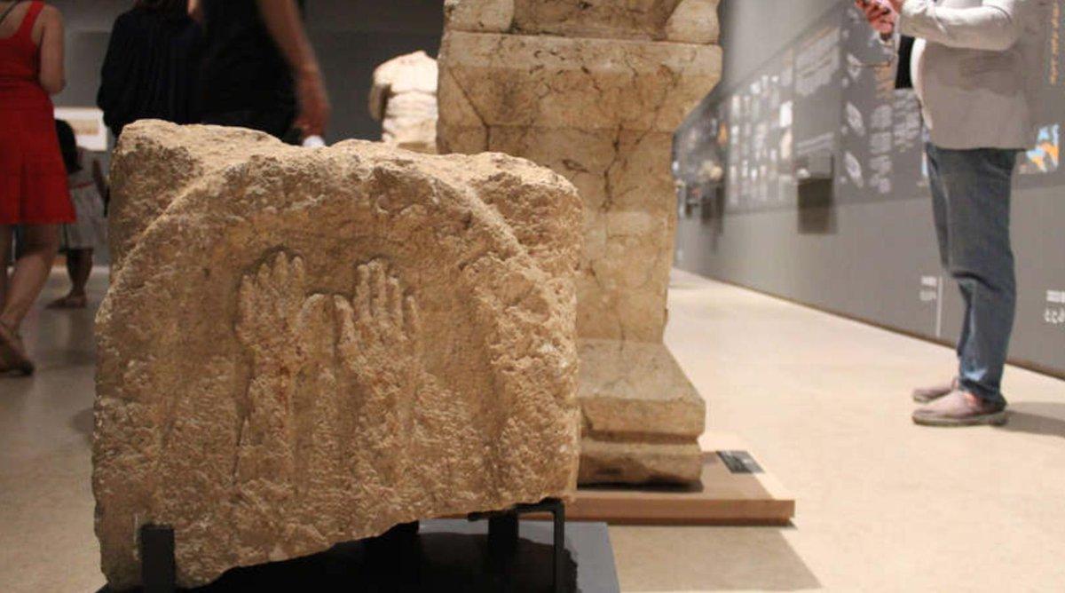 ⭕️ Exhibition: Baalbek: symbol of power or living city? ℹ️ al-monitor.com/pulse/original… ℹ️ archaeologyin.org