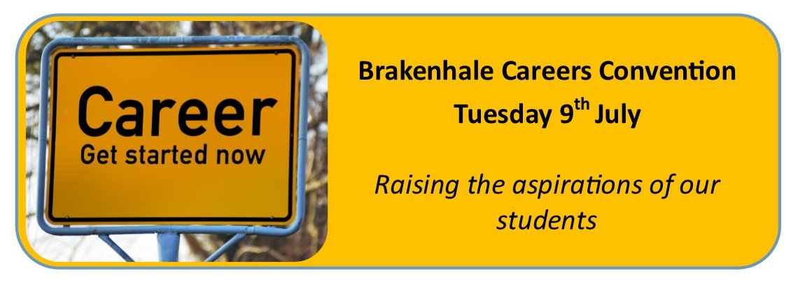 Student Careers Convention - Tuesday 9th July #teambrakenhale