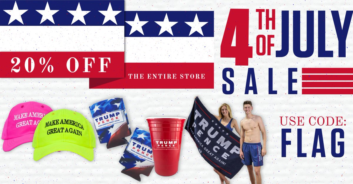 The RNC Peddled Donald Trump-Themed MAGA Merchandise On The Fourth Of July
