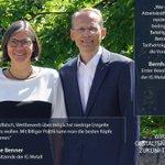 Image for the Tweet beginning: Christiane Benner, Zweite Vorsitzende der