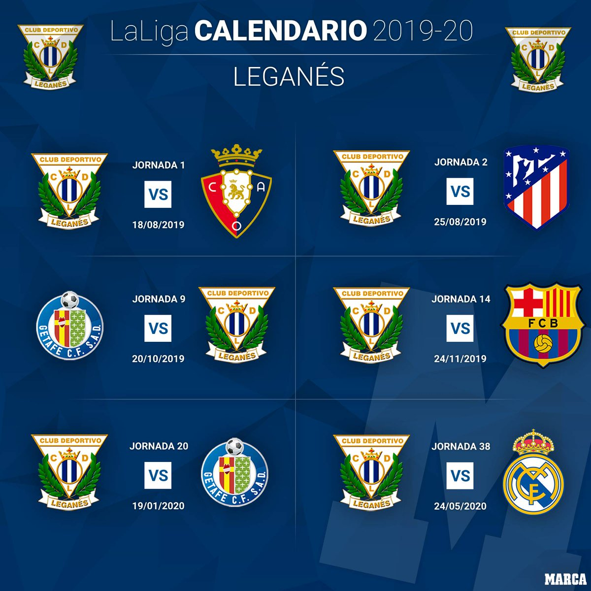 Calendario Del Villarreal.A Thread Written By Marca Abrimos Hilo Para Repasar Lo