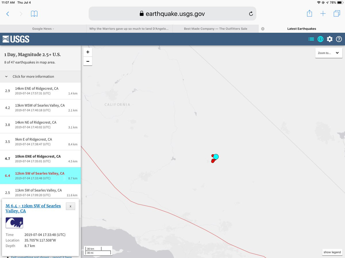 @ERIK_D_REEDY Magnitude 6.4 and the aftershocks are fairly big too. Hope everybody is safe and sound