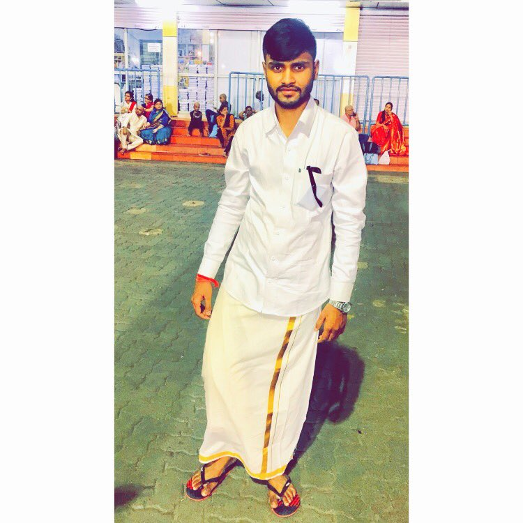 ॐ नमो वैंकटेशाय नमः !  #SouthIndianOutfits #MakhanSharma #Tirupati #Balaji #Makhan #Sharma #Jabalpur