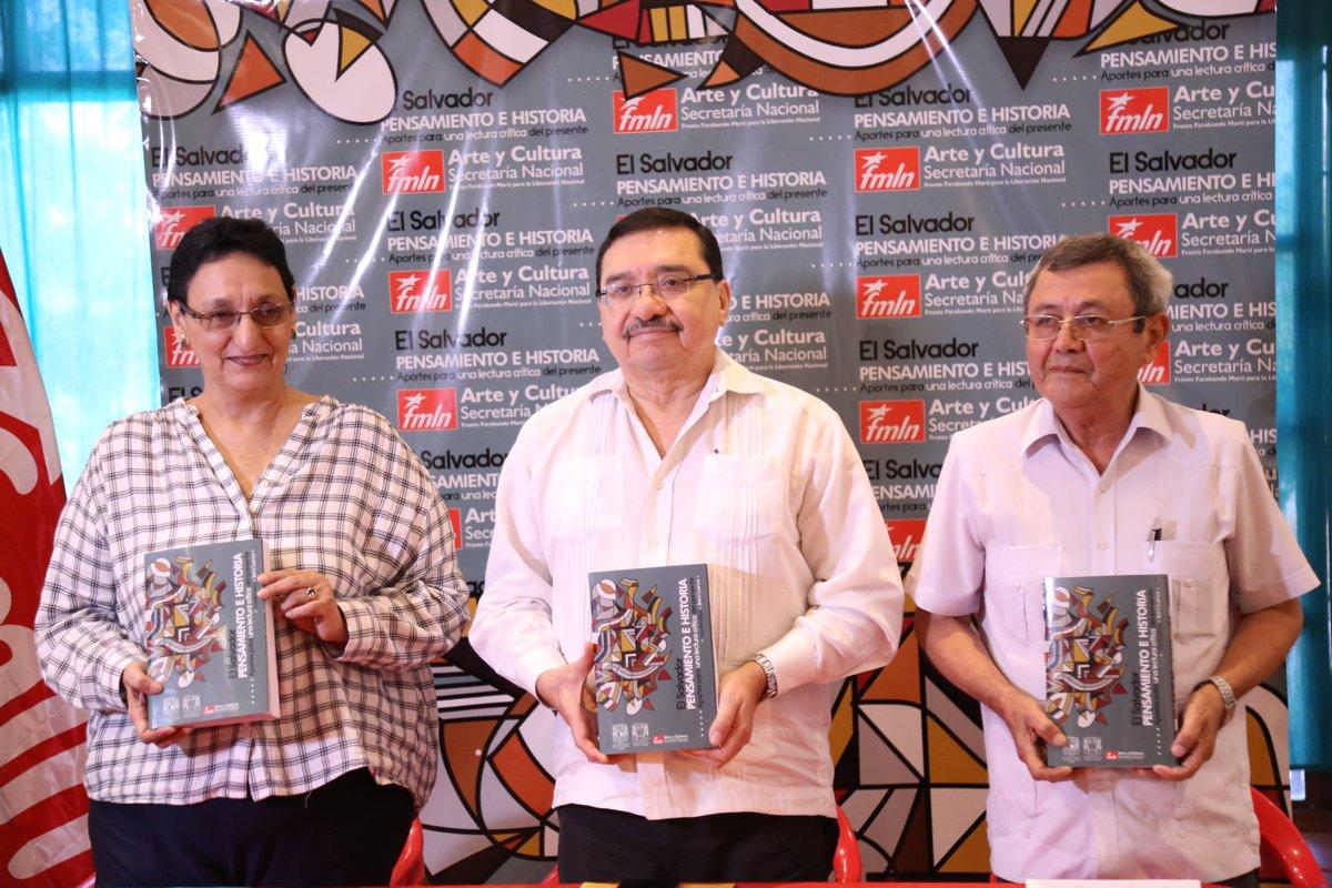 """Libro """"Pensamiento e Historia"""" invita a repensar a la izquierda de El Salvador"""