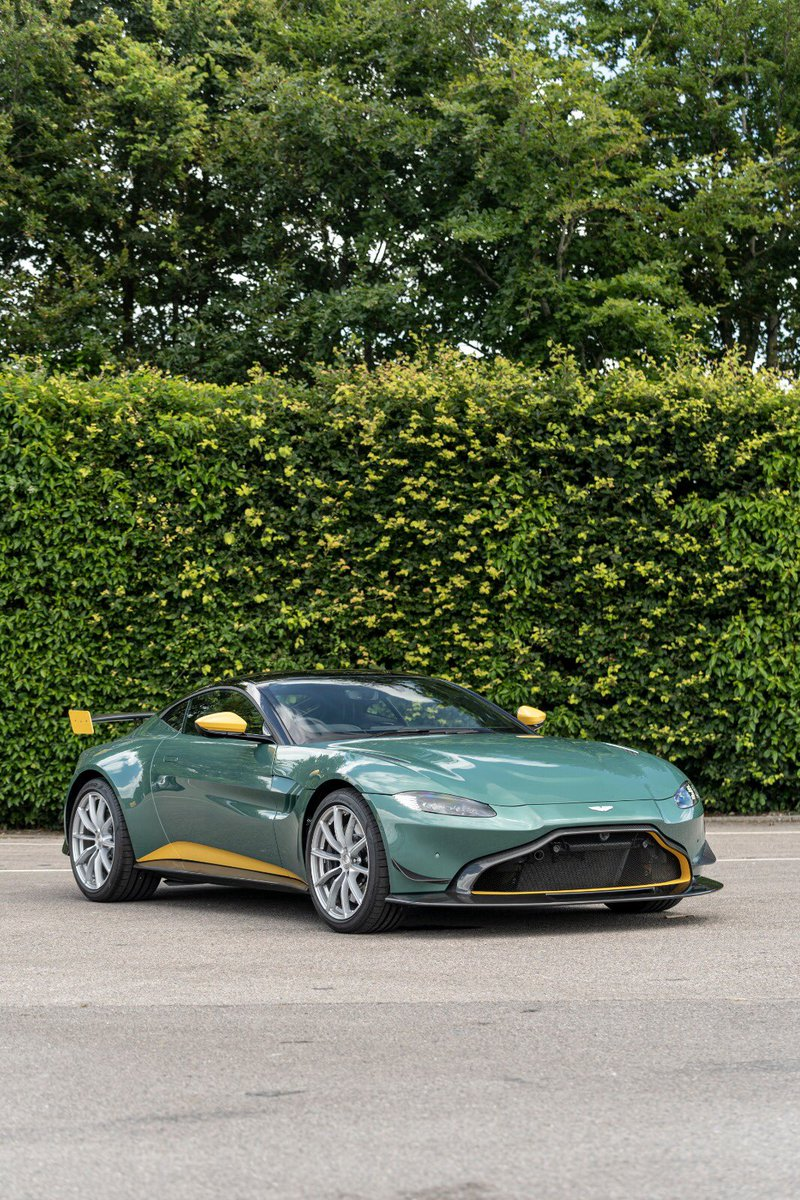 Aston Martin On Twitter The Next Generation Honouring The Modern Racing Vantage Gte The Lime Essence And Stirling Green Colour Displayed On The Body Panels Replicates The Racer That Currently Competes