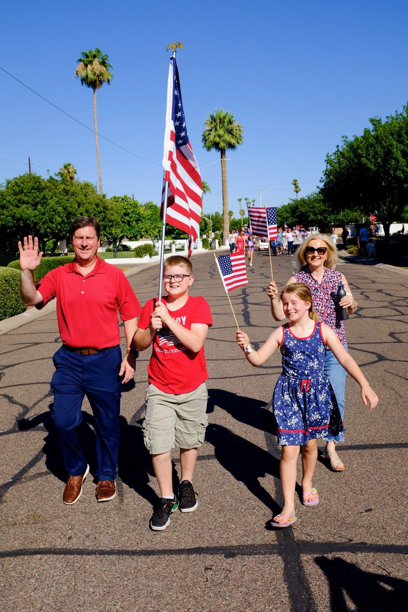 Happy #IndependenceDay2019 . Another fun and patriotic Arcadia 4th of July Parade.