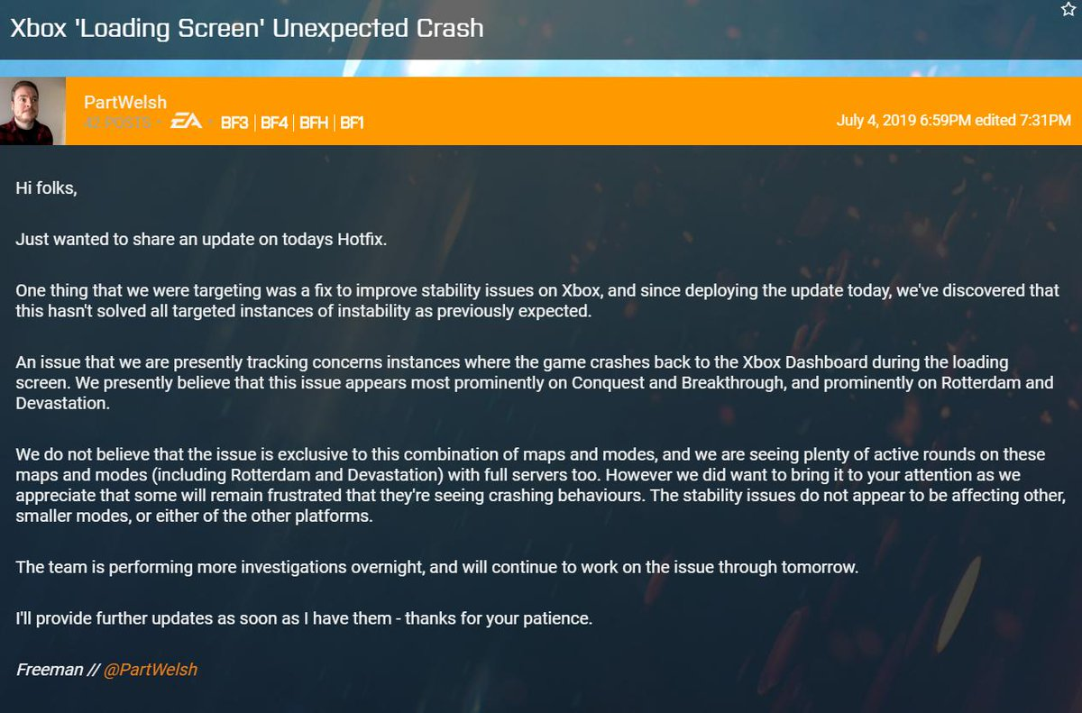 Bf3 news and updates