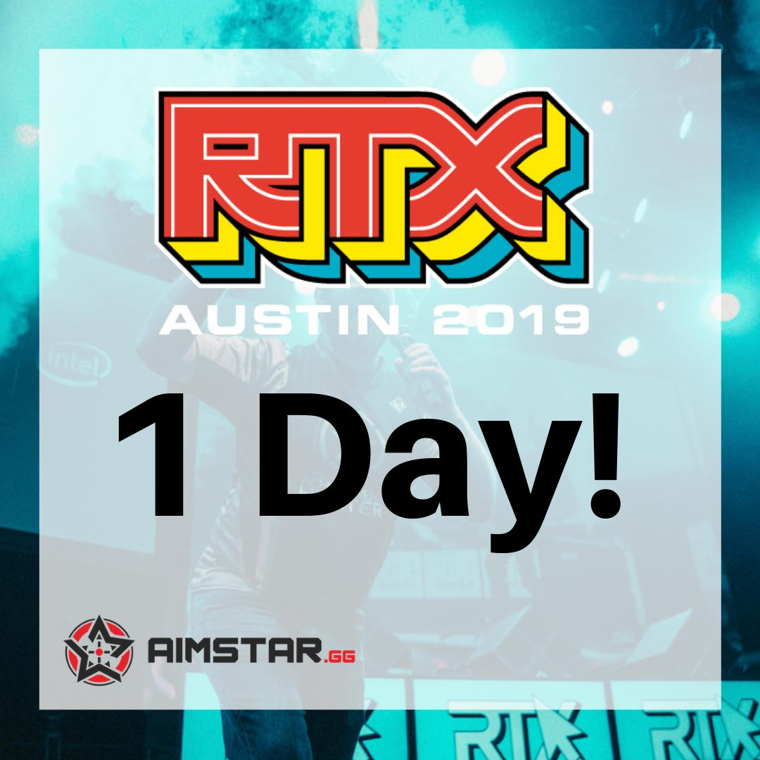 Tomorrow is the day! Come join us at booth 717 Friday through Sunday and for the unveiling of brand new game. Come play for a chance at some amazing prizes, too! @roosterteeth #rtxaustin  👀🎮🐓😬 #esports #aimstargg #gamer #contest #giveaway #convention #videogames #games #play