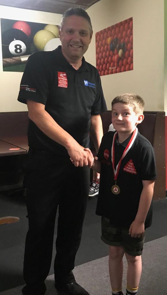 test Twitter Media - RT @SAMSSnooker: Star 🌟 of the week James 🌟 @FoundationPaul @EPSBofficial  #Cue4All #JuniorSnooker #147club https://t.co/eD5jQs6UEo