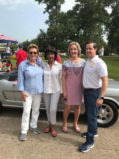 Happy #July4th, DA Ogg visited the folks up north in Kingwood to celebrate our nation's independence.