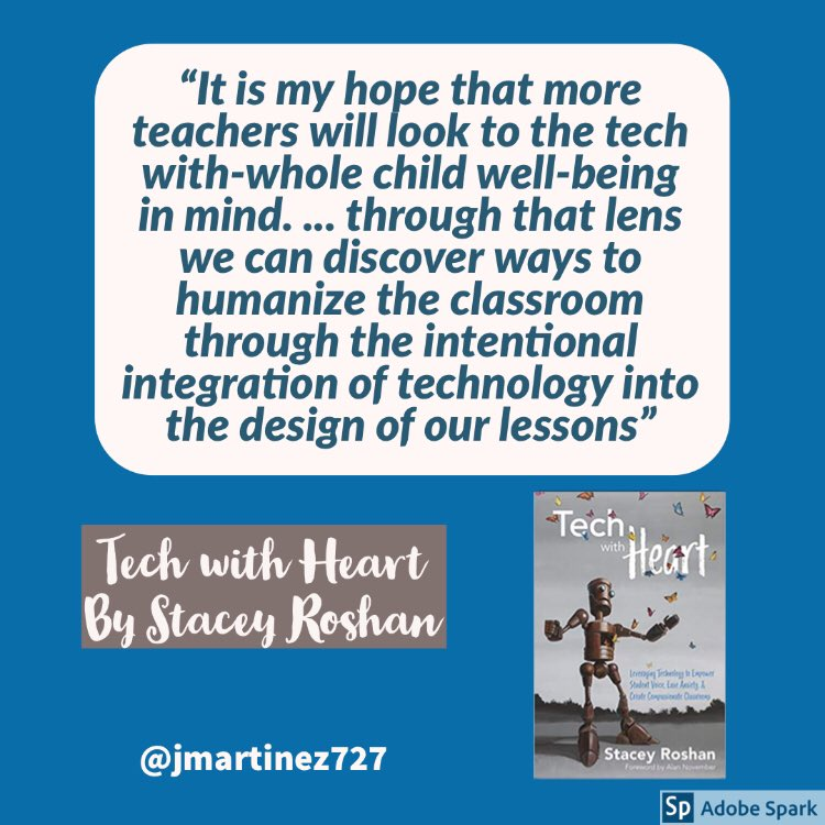 """""""Technology is only powerful when you use it well."""" #TechWithHeart by @buddyxo #Rx4PPL 📚💕"""