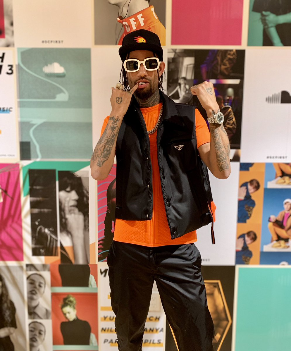 Answer: @pnbrock   Most of you guessed right 👏 Listen to the Deluxe version of TrapStar Turnt PopStar on SoundCloud 👉 http://bit.ly/2YqEUh8
