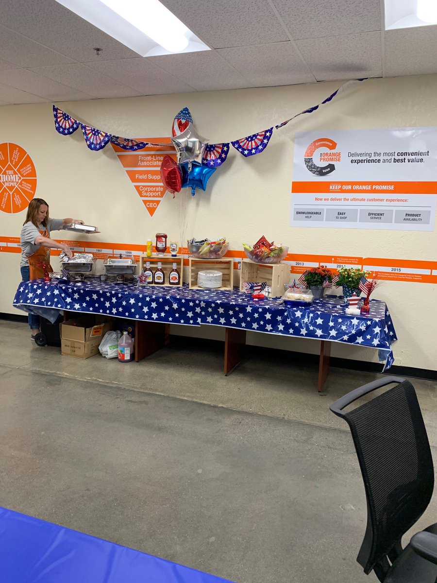 Sylvia Ryan On Twitter Tracy Home Depot Store 1020 Doing It Right Tri Tip Sandwiches For Associates To Enjoy On The 4th
