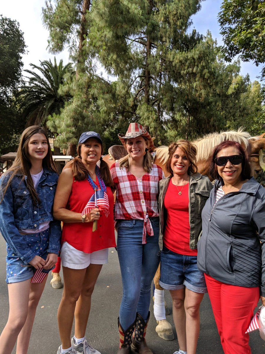What better way to celebrate the spirit of democracy than by marching with Rep. Katie Hill in Santa Clarita's 4th of July Parade. https://t.co/X5zwzYD3An