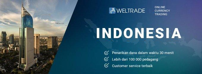 WELTRADE INDONESIA - Broker STP dengan Dealing sempurna