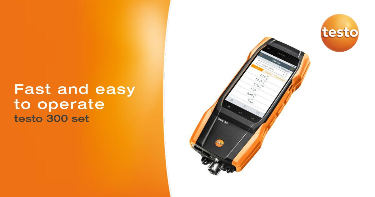 The #Testo 300 flue gas analyzer is both fast and easy to operate. See for yourself: undefined https://t.co/Oyc4kVxgCP