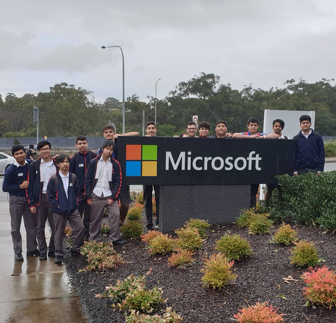Great way to end the term, with a visit to @MicrosoftAU for an Interview 2 Impress workshop organised by @ABCNoz 😊. – at Microsoft Cafe