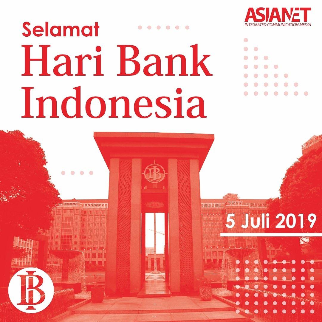 Bank yang semula bernama De Javasche Bank ini merupakan bank sentral yang memiliki tujuan unutk mencapai dan memelihara kestabilan rupiah.  Mari kita dukung upaya Bank Indonesia dengan bijak menggunakan uang!  #HariBankIndonesia #BankIndonesia #CIKUR #CintaRupiah https://t.co/ZTrql3N0wv
