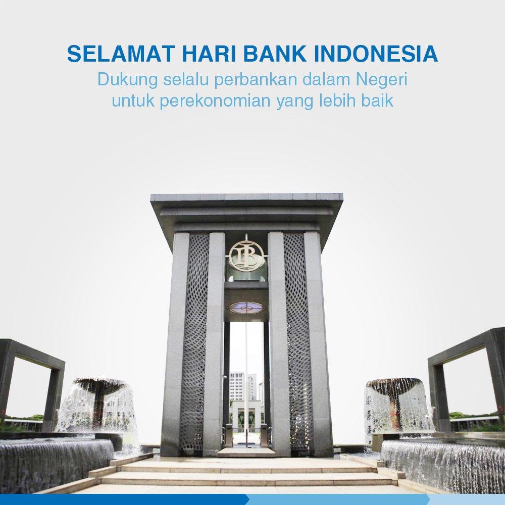 Selamat Hari Bank Indonesia. Semoga Perbankan Indonesia semakin berkembang dan berintegritas untuk terwujudnya pertumbuhan dan stabilitas perekonomian nasional.  #PartnerForYourBusinessGrowth #bank #BankIndex #haribankindonesia #bankindonesia #HariBankNasional #haribank https://t.co/u1FYDPr2lS