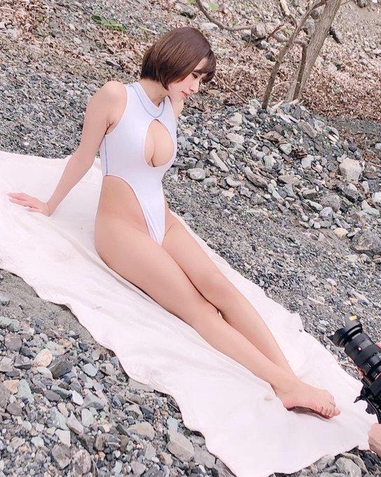 グラビアアイドルヴァネッサ・パンのTwitter自撮りエロ画像45