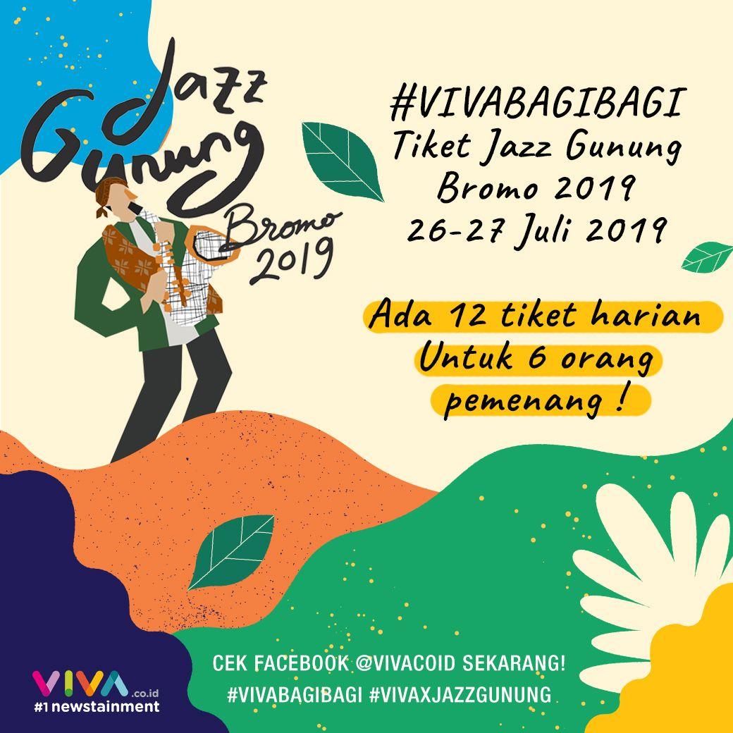 Hai Vivanians Mau Tiket Jazz Gunung Bromo 2019 Gratis