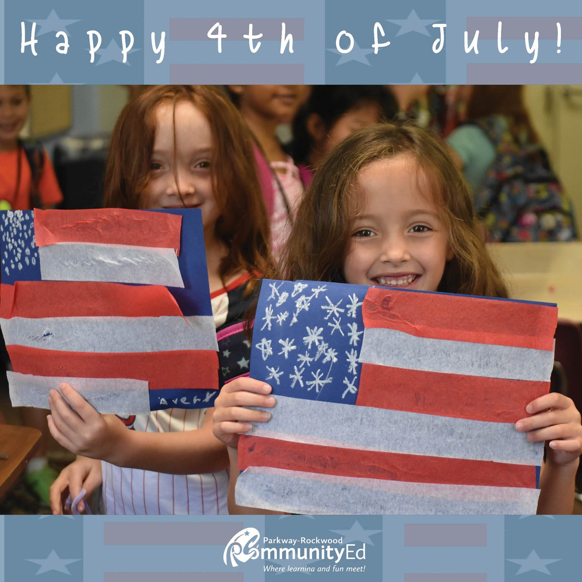 Have a fun and safe holiday! We're looking forward to more fun the rest of the Summer! #4thofjuly