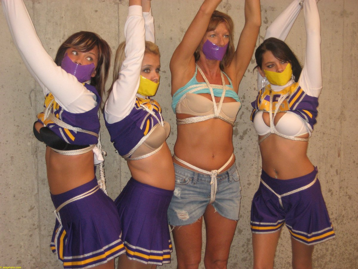 Gorgeous Cheerleader Abducted