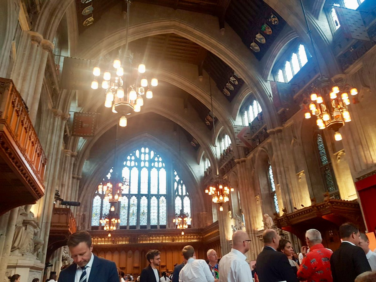 Congratulations to all the winners of the 2019 @nlalondon Awards, including our client @vastintuk who scooped an award for @sugarhseisland Beautiful venue @GuildhallLondon