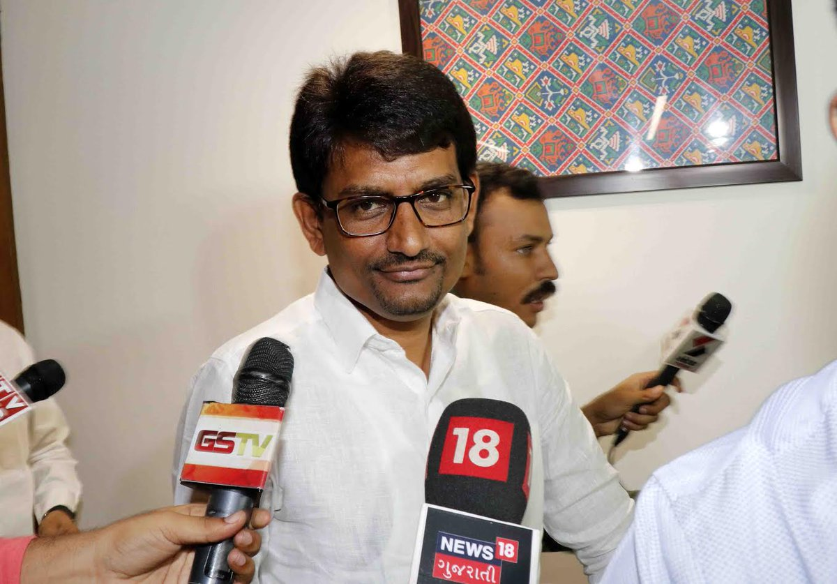 Congress MLAs Alpesh Thakor, Dhavalsinh Zala give resignations to assembly Speaker