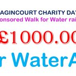 "Thank you to all our Longacre families for supporting our Charity Day for @WaterAidUK . Our ""Walk for Water"" has raised £1000 – this amount could train ten Water Warriors to fix water points in areas most in need. #charityday #LongacreLife"