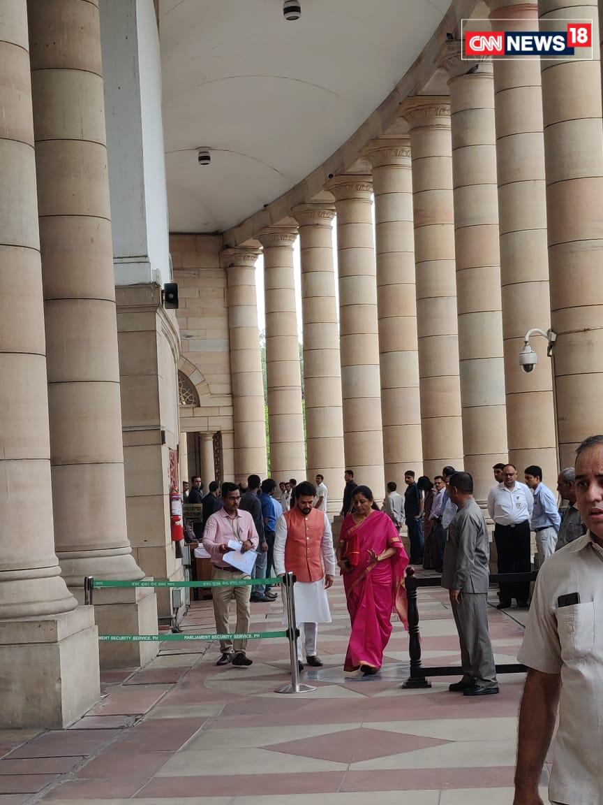 Finance Minister Sitharaman Presents Her Maiden Budget
