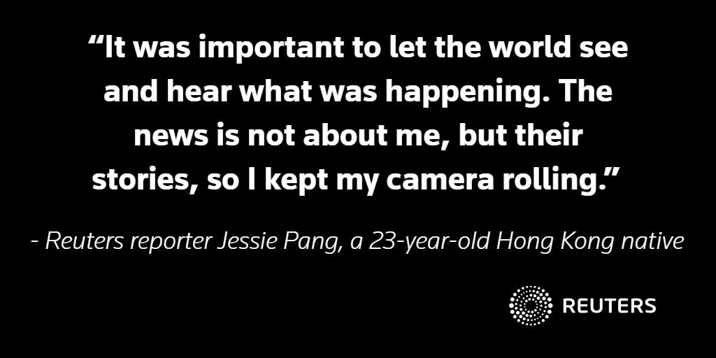 BACKSTORY: When covering the uprising in Hong Kong, the professional and personal collide https://reut.rs/2NIlWlc #ReutersBackstory