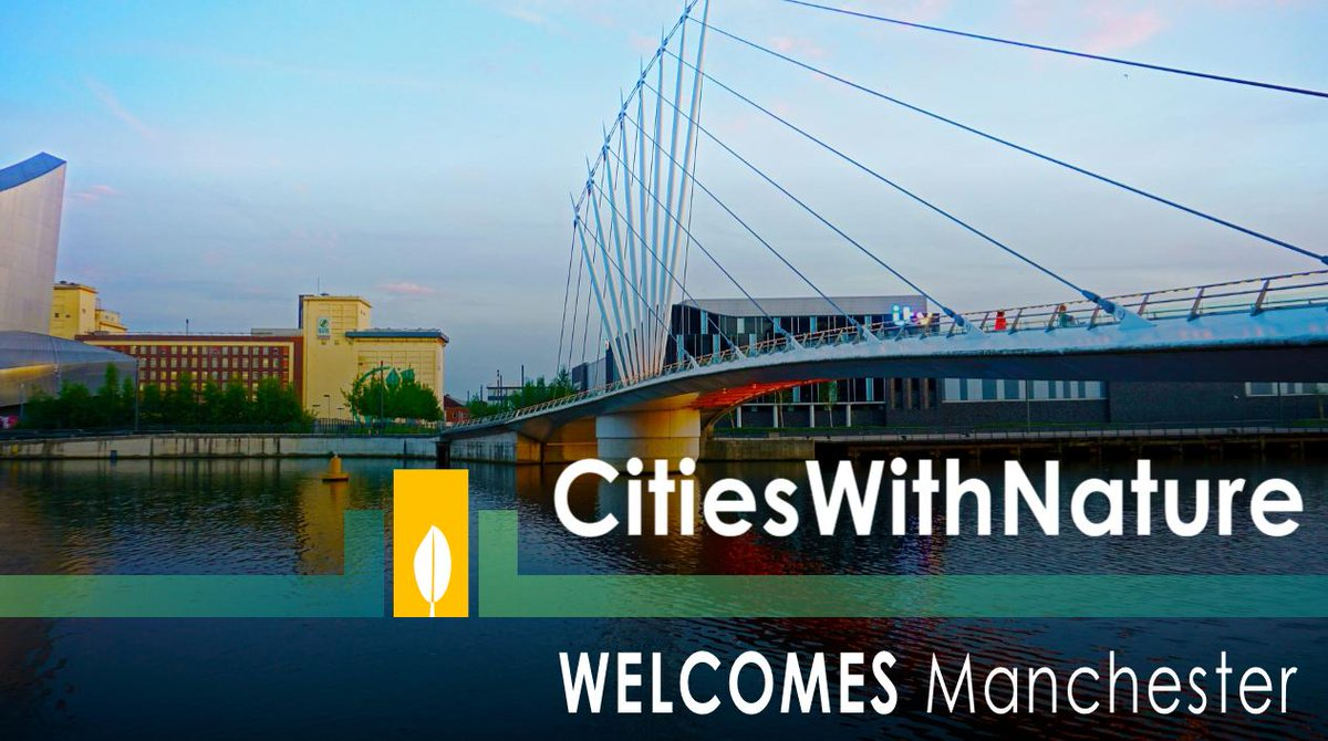 #CitiesWithNature is growing! #Manchester just became the 1st UK city to join.   More info: https://t.co/qztIFWK13i  #Cities can sign up here: https://t.co/NkDHIlgGbQ Find out how you can get involved: https://t.co/qI9WqH3Iys  Contact @CitiesWNature for more info 🌳🏙🌱🌍 🌿