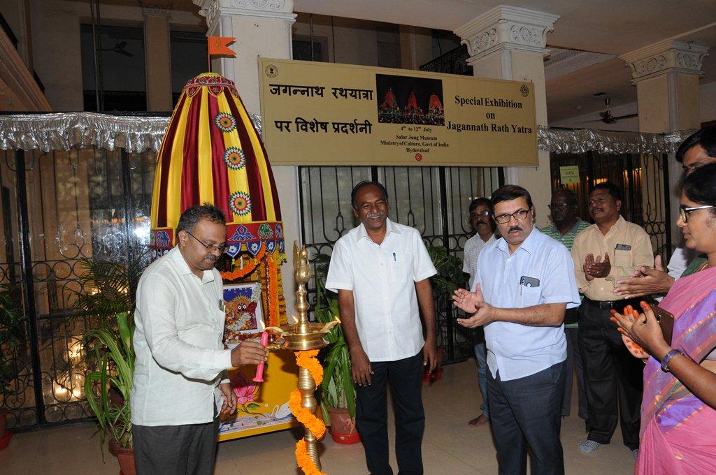 Jagannath Rath installed on 4th July 2019 Special Exhibition inaugurated on Jagannath Ratha Yatra at the museum ! #Jagannathrathayatra2019 #festivalexhibitions