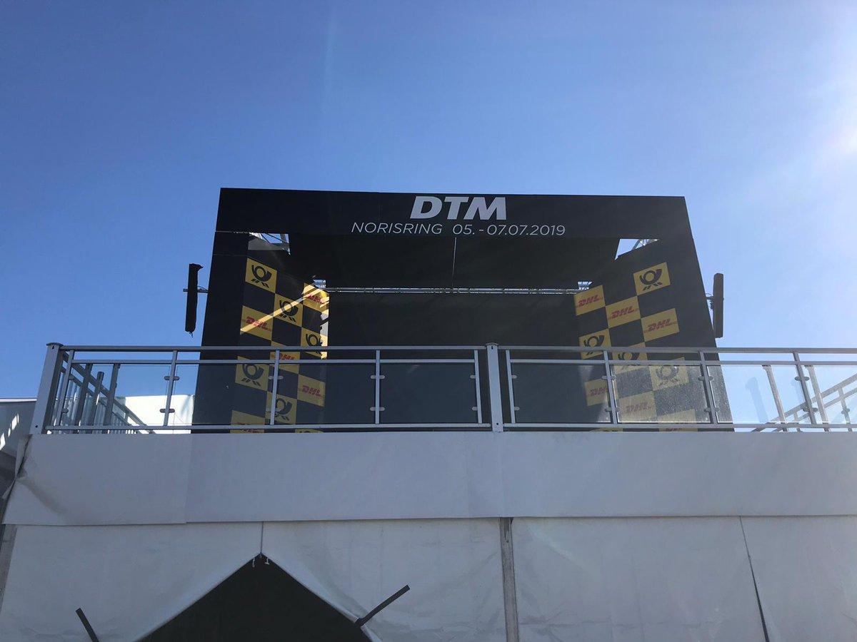 Vorfreude auf #DTMNorisring wächst, #Trackwalk @DTM @norisring