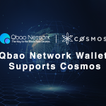 Image for the Tweet beginning: Qbao Network Wallet Supports @cosmos