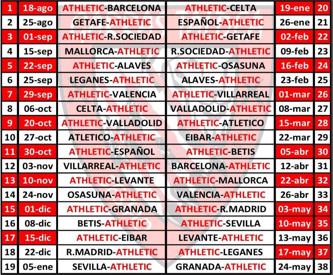 Sorteo Calendario Liga 2020.Calendario Liga 2020 16