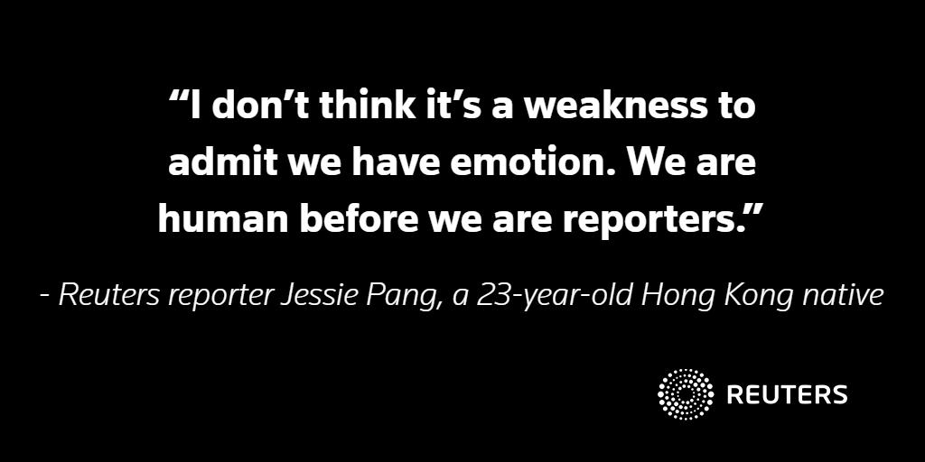 BACKSTORY: When covering the uprising in Hong Kong, the professional and personal collide https://reut.rs/2NIxjtM #ReutersBackstory