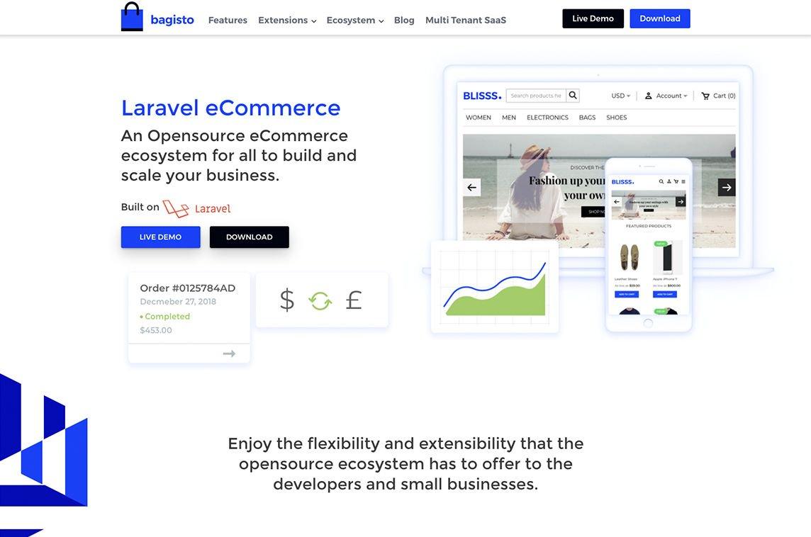 Bagisto - Laravel eCommerce (@BagistoShop) | Twitter
