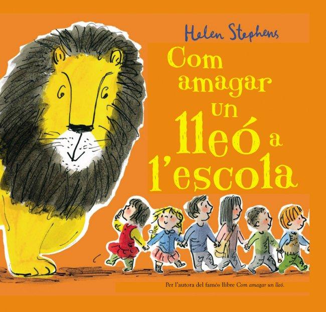 """Novetat #imaginació 🦁🏫 """"Com amagar un lleó a l'escola"""", un llibre de Helen Stephens @stephens_helen https://www.megustaleer.com/libros/com-amagar-un-lle-a-lescola/MES-097122…"""