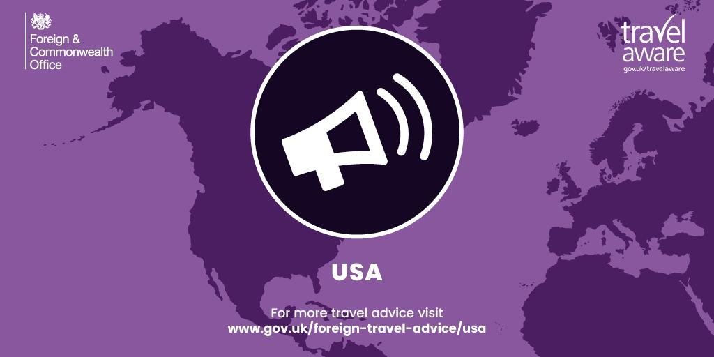 Usa Travel Advice >> Fco Travel Advice Fcotravel Twitter