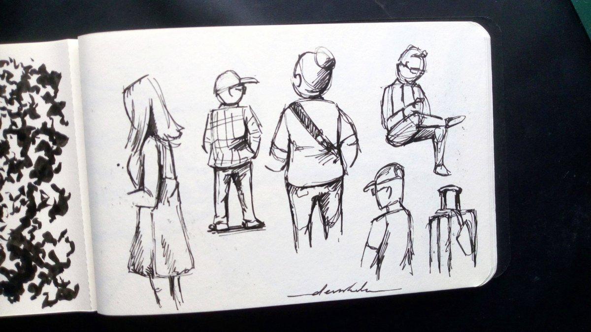 Sketching people #dailyart #dailyillustration #people #sketchingpeople #quicksketch #quickdoodle #artstudy https://t.co/k572jFyVLg